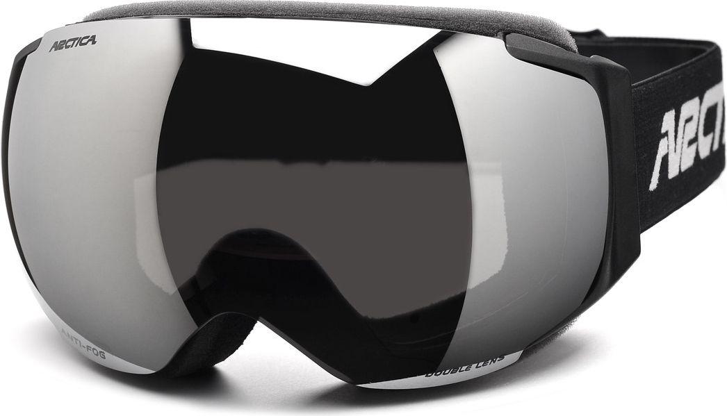 Arctica Gogle narciarskie G-101 czarne r. uniwersalny 5906726492158