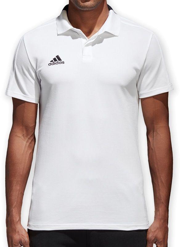 Adidas Koszulka pilkarska Condivo 18 CO Polo biala r. XL (CF4377) CF4377