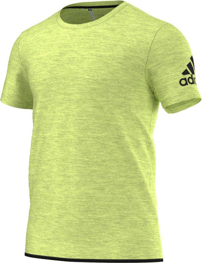 Adidas Koszulka meska Uncontrol Climachill Tee zolta r. S (AB6324) AB6324