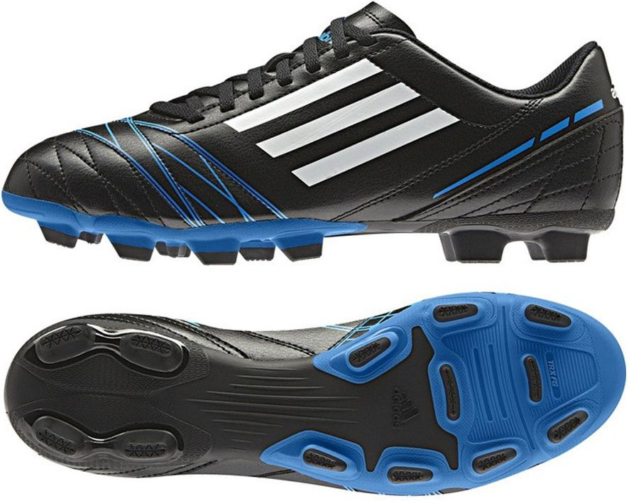 Adidas Buty pilkarskie Conquisto TRX FG czarne r. 40 (Q23883) Q23883