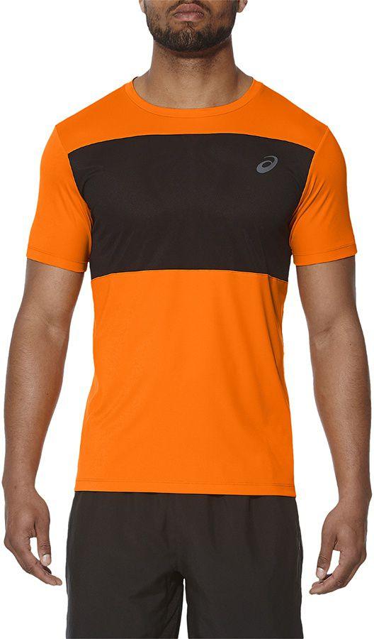 Asics Koszulka meska Poly Mesh Top pomaranczowa r. XL (141622 0524) 141622 0524