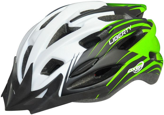 Axer Bike BICYCLE HELMET LIBERTY GREEN r. XL  (A1477) A1477-XL