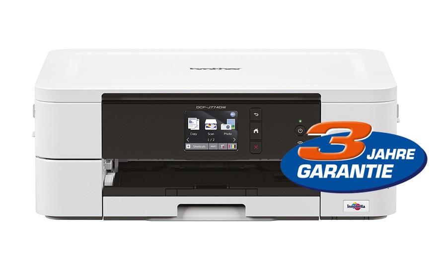 Printer Brother DCP-J774DW MFC-Ink A4 printeris