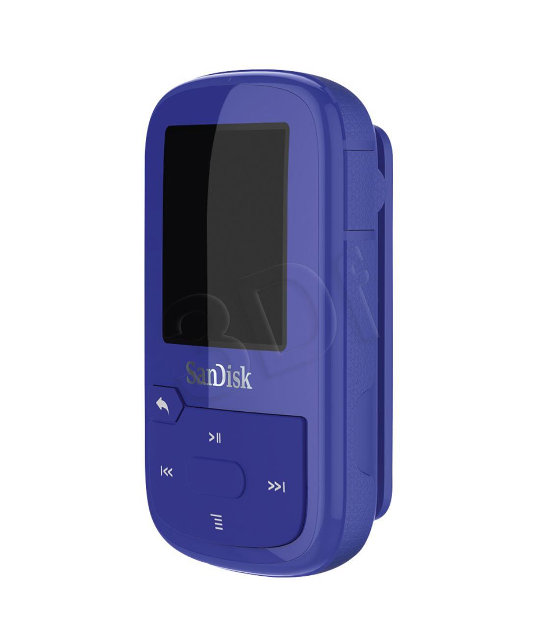 SanDisk Clip Sport Plus     16GB Blue            SDMX28-016G-G46B MP3 atskaņotājs