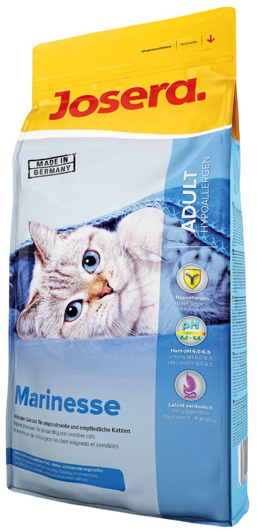 JOSERA 10kg MARINESSE HYPOALLERGEN kaķu barība