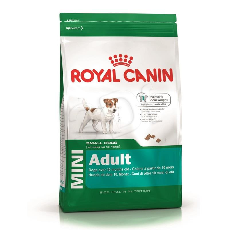 ROYAL CANIN Dog Food Mini Adult 8+ 8kg barība suņiem
