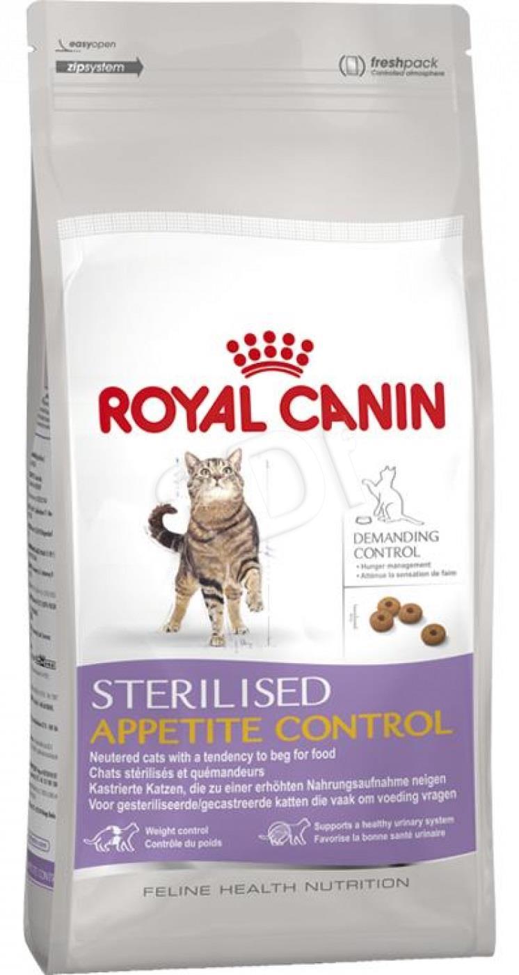 Royal Canin Sterilised Appetite Control 10 kg kaķu barība