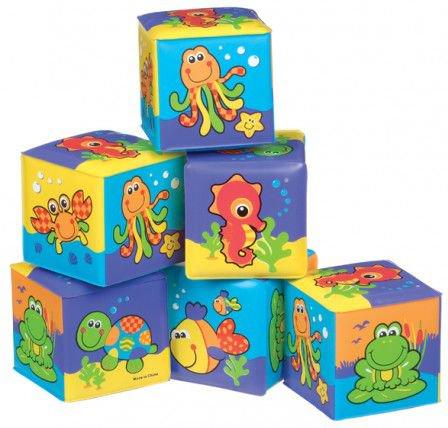 Playgro 181170 Soft Cubes My first 6/24 bērnu rotaļlieta