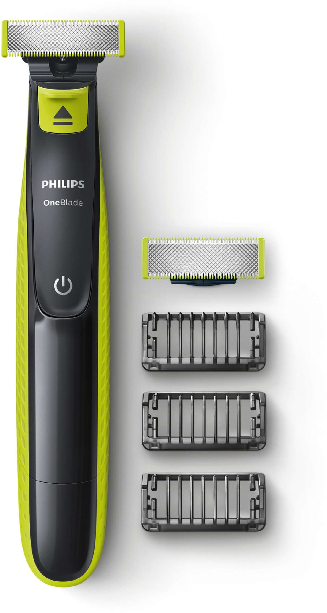 Philips Shaver QP2520/30  OneBlade Wet use, Rechargeable, Charging time 8 h, Ni-MH, Battery, Number of shaver heads/blades 2 replaceable bla matu, bārdas Trimmeris