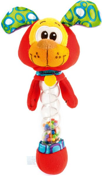 Playgro 181570 Dog Rattle 8/48 bērnu rotaļlieta