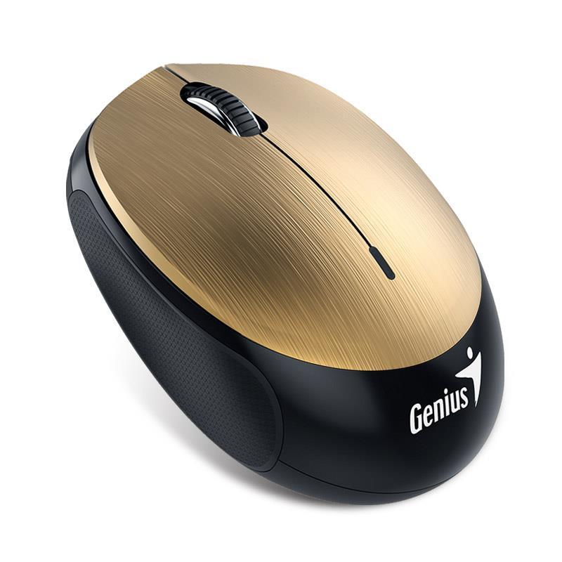 Genius Bluetooth 4.0 Mouse NX-9000BT, 320mAh Li-polymer battery, Gold piederumi cietajiem diskiem HDD