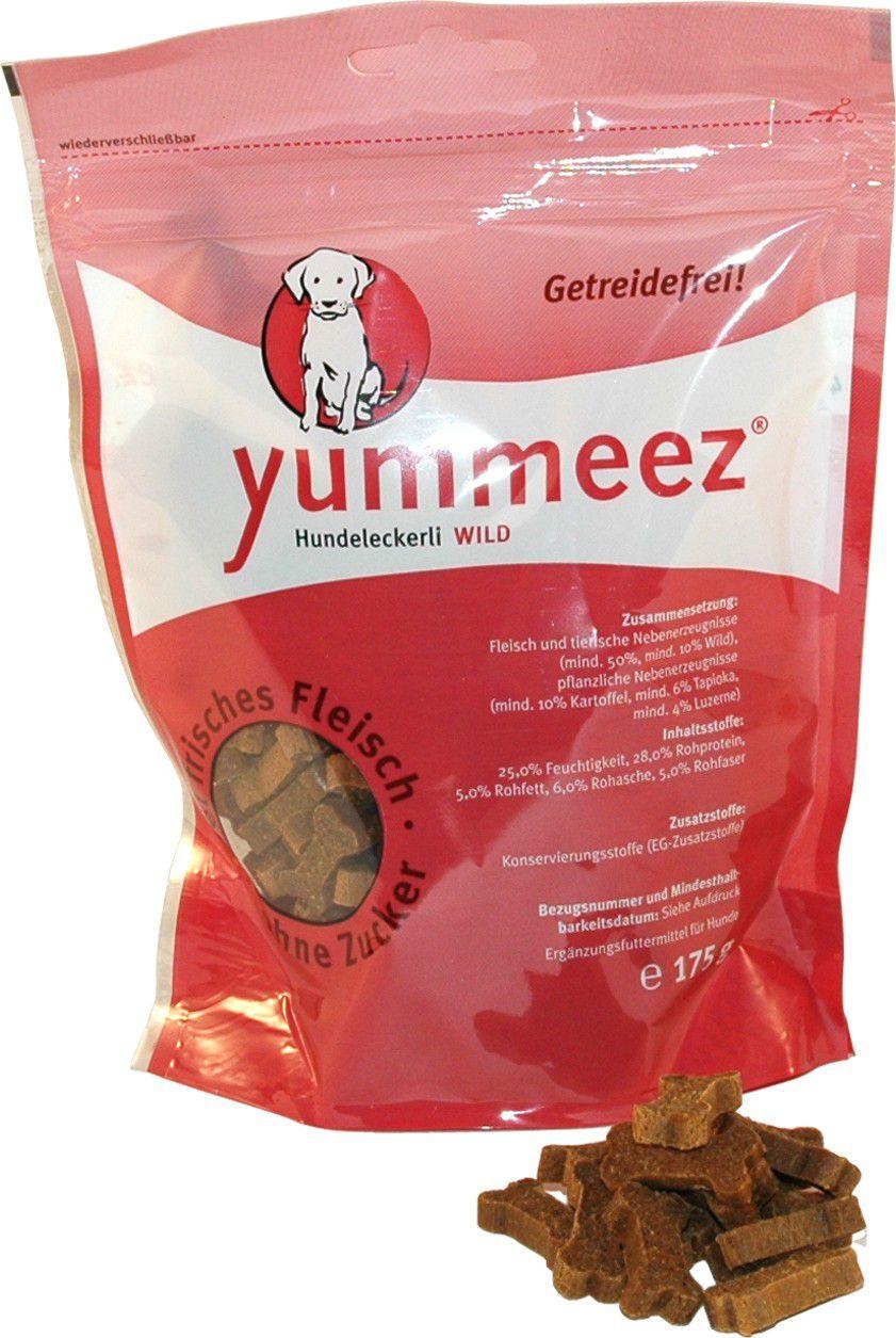Yummeez Kosteczki z Dziczyzny 175g 004919