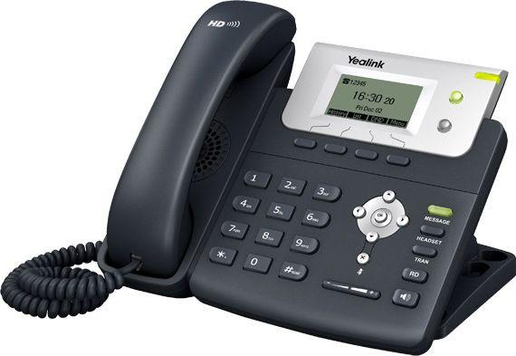 Yealink SIP-T21E2 2xSIP 2xFE telefons