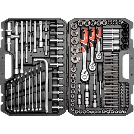Yato. Set of keys 128pcs. (YT-38872)