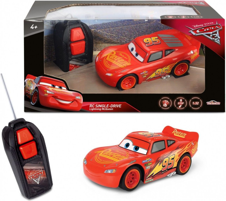 Cars 3 RC Zygzag McQueen 14 CM Radiovadāmā rotaļlieta