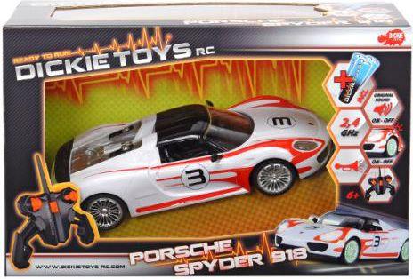 RC Porsche Spyder RTR Radiovadāmā rotaļlieta