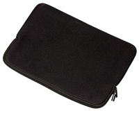 eSTUFF Sleeve for 13-14  Laptop Black Neoprene  with zipper portatīvo datoru soma, apvalks