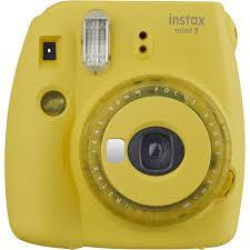 CAMERA INSTANT W/10SH & CASE/INSTAX MINI 9 CL.YELL FUJIFILM INSTAXMINI9CLEARYELLOW Digitālā kamera