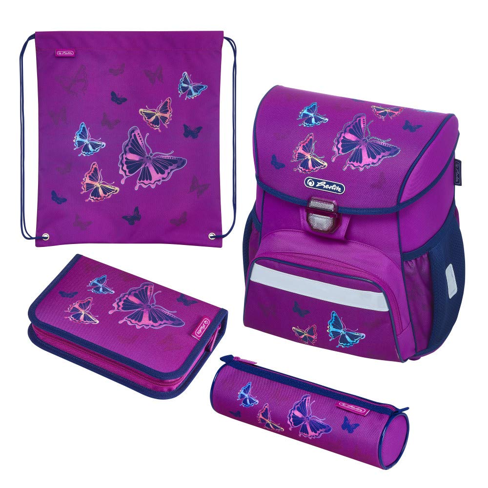 Herl Ranzen Loop Plus Glitter Butterfly Skolas somas un penāļi