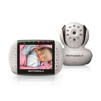 Motorola MBP36, Infrared Night Vision, Zoom, Remote, Wireless, (Remontēts, garantija 3 mēneši) Mazuļu uzraudzība