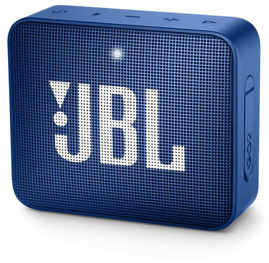 JBL Go 2, compact portable speaker with battery, IPX7 waterproof, Blue pārnēsājamais skaļrunis