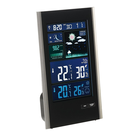 ClipSonic Barometric weather station SL250 barometrs, termometrs