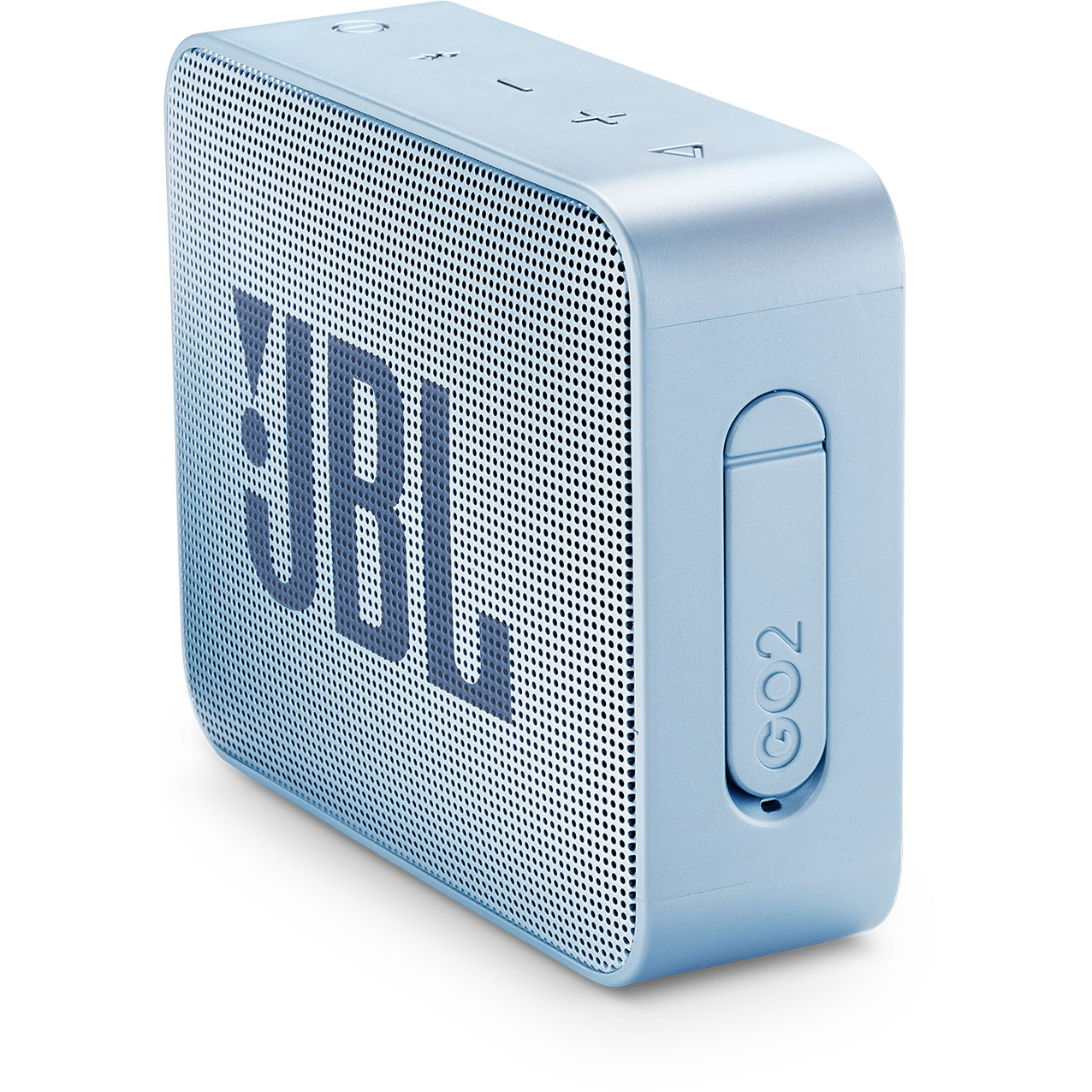 JBL Go 2, compact portable speaker with battery, IPX7 waterproof, Cyan pārnēsājamais skaļrunis