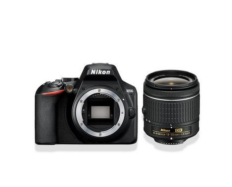 Digital SLR D3500 + AF-P 18-55mm Nikon D3500 + AF-P 18-55mm Spoguļkamera SLR