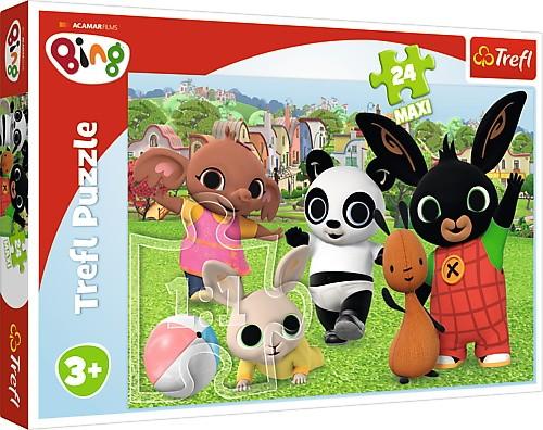 Trefl Puzzle 24 pieces Bing - Fun in the park puzle, puzzle