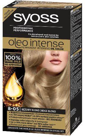 Syoss Farba do wlosow Oleo 8-05 bezowy blond 68840965