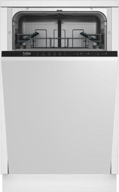 Dishwasher BEKO DIS16010 A+ 45 cm Iebūvējamā Trauku mazgājamā mašīna
