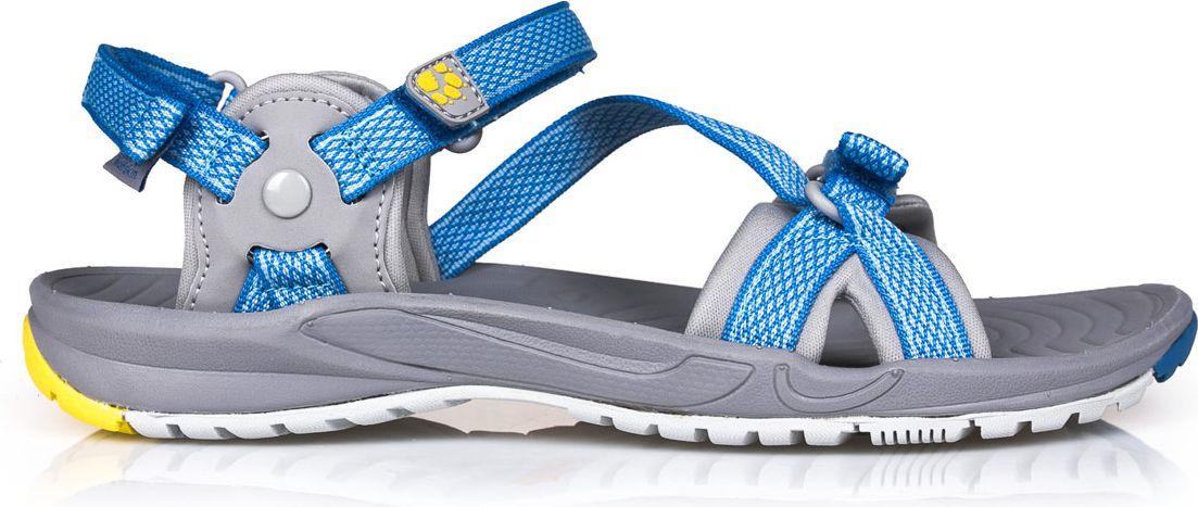 Jack Wolfskin Sandaly damskie Lakewood Ride Sandal W Wave Blue r. 38 (4019041-1255) 4019041-1255