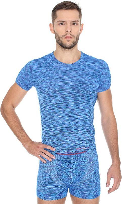Brubeck Koszulka meska z krotkim rekawem FUSION popielata r. XXL (SS11550) SS11550
