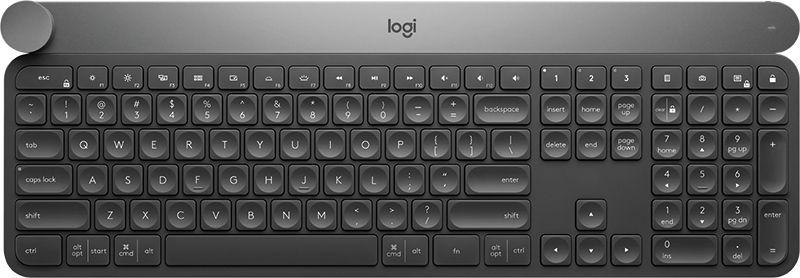 Logitech Craft RF Wireless + Bluetooth 920-008504 klaviatūra