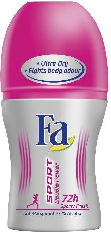 Fa Sport Double Power Sporty Fresh Dezodorant w kulce  50ml 68738248
