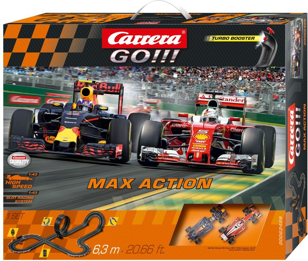 Carrera Tor GO!!! Max Action (62429)