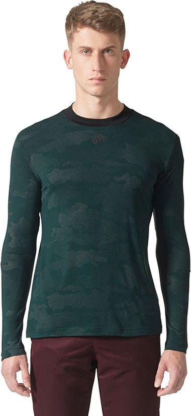 Adidas Koszulka meska ID Camo LS Tee zielona r.  M (BQ0716) BQ0716