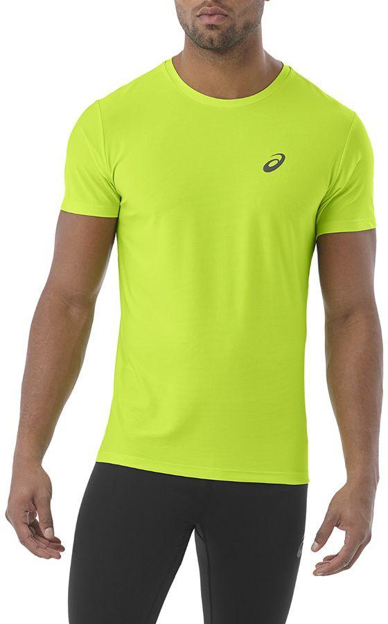 Asics Koszulka meska SS Top Lime Green r. S (134084-0432) 134084 0432
