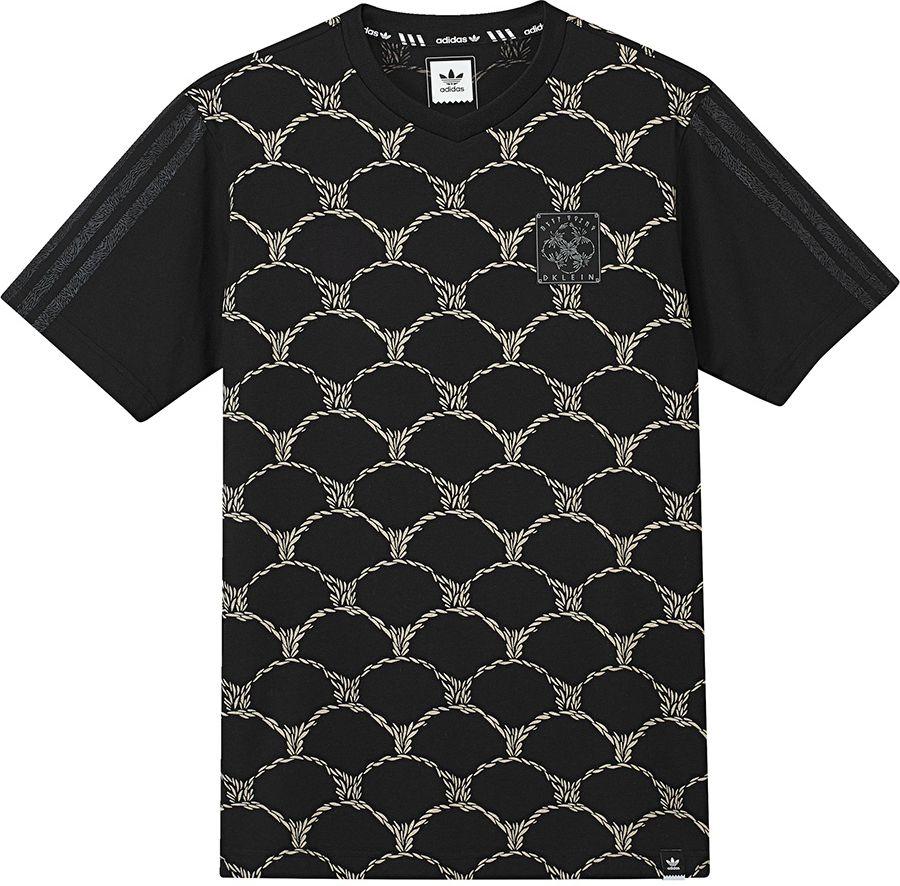 Adidas Koszulka meska T-Shirt  D Klein Jersey  czarna r. L (B49125) B49125