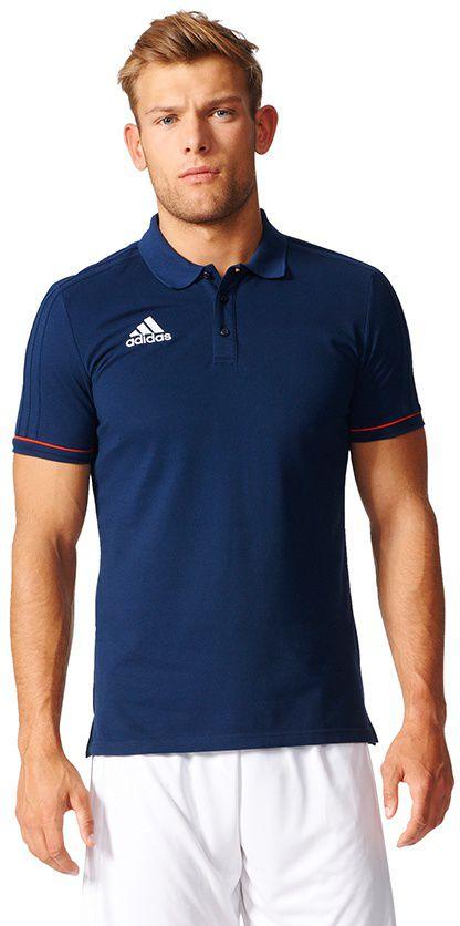 Adidas Koszulka pilkarska Tiro 17  granatowa r. S (BQ2689) BQ2689