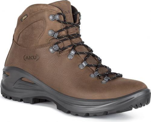 Aku Buty trekkingowe meskie Tribute II GTX Brown r. 44.5 8032696575175 Tūrisma apavi
