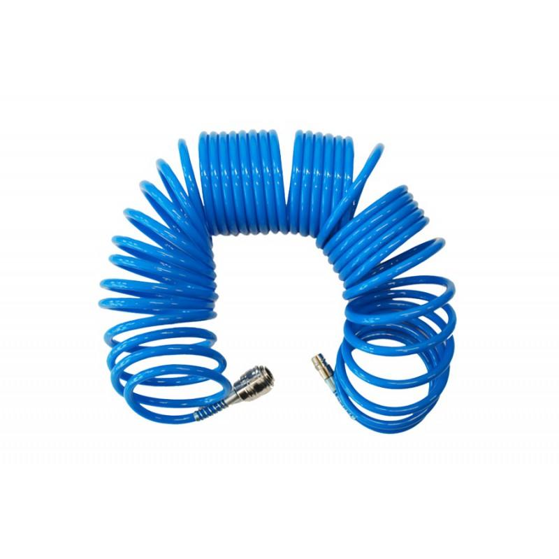 AWTools Waz pneumatyczny spiralny 8mm 5m (AW10040) AW10040