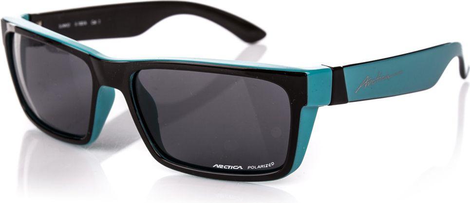 Arctica Okulary polaryzacyjne Sunkid czarno-niebieskie r. uniwersalny (S-1007A) S-1007A