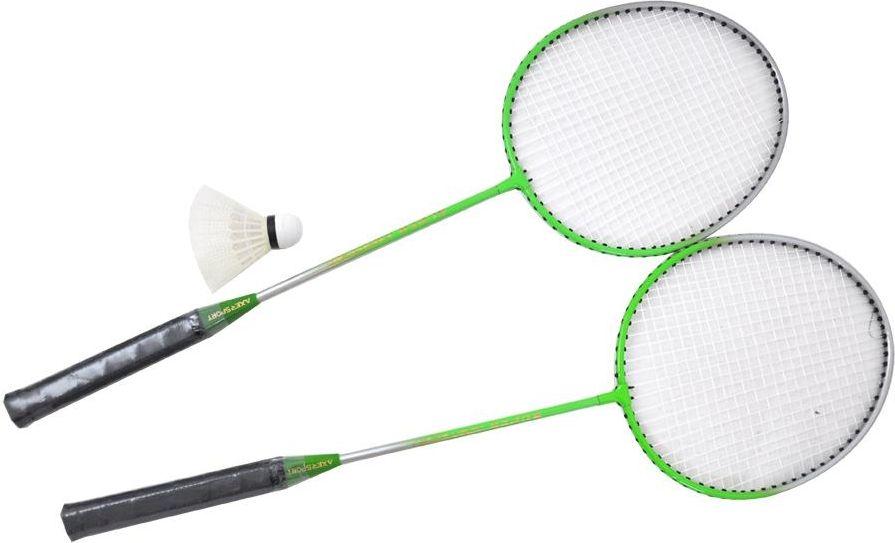 Axer Zestaw do badmintona Tatuu zielony (A1980) A1980 badmintona rakete