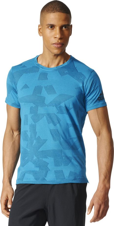 Adidas Koszulka meska Freelift Elite niebieska r. S (BR4098) BR4098