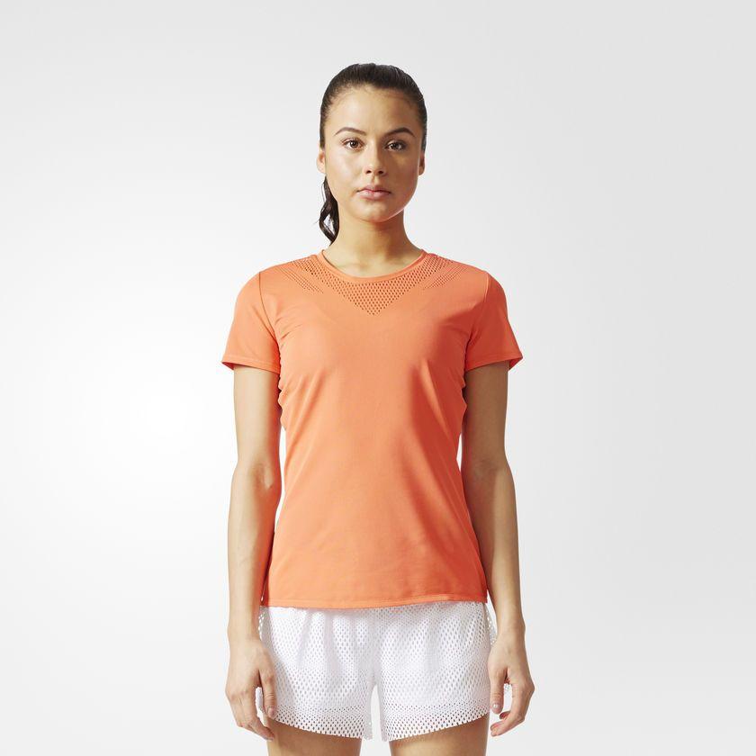 Adidas Koszulka damska Feminine Tee pomaranczowa r. XS (BR9840) BR9840
