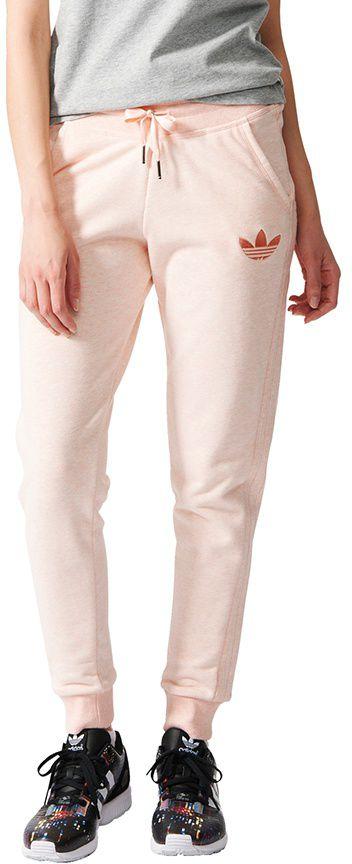 Adidas Spodnie Slim Trackpant bezowe r. L (S19745) S19745