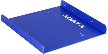 ADATA SSD Adapter' Bracket 2.5''-3.5'' Plastic Blue piederumi cietajiem diskiem HDD
