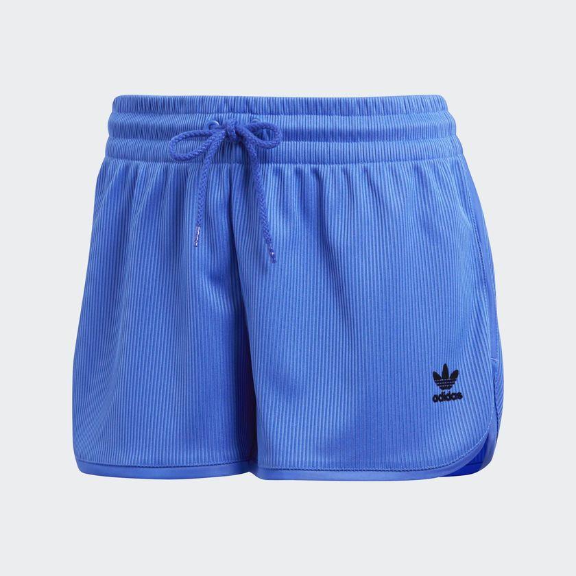 Adidas Spodenki sportowe damskie Originals League Rib niebieskie r. 34 (CE3712) CE3712