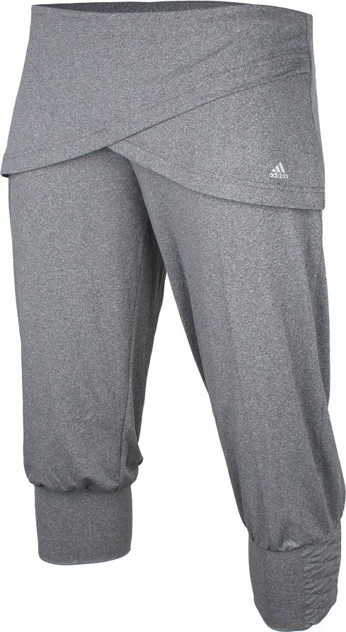 Adidas Spodnie damskie SPU 3/4 Cuffed szare r. M (Z22421) Z22421